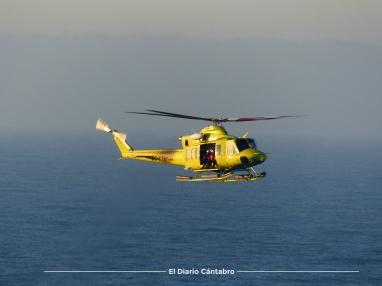 Helicóptero 112 Cantabria