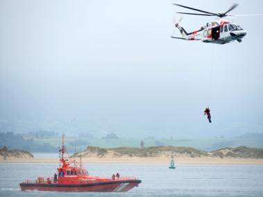 Ejercicio Salvamento Marítimo Santander