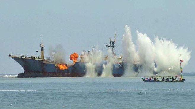 Pesca ilegal Indonesia