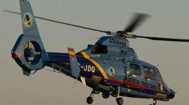 Helicóptero aduanas